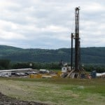 Hydraulic Fracking Well
